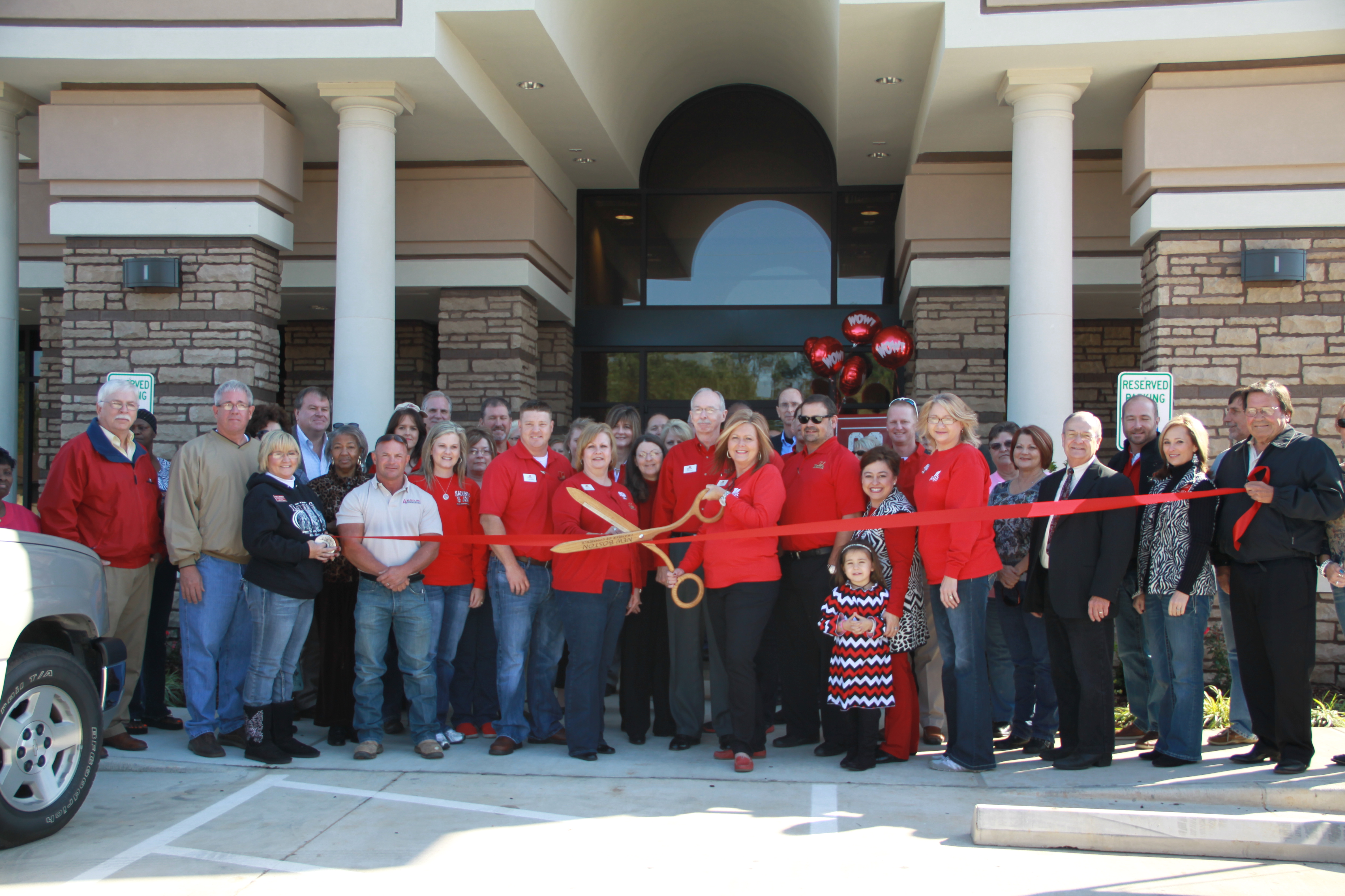 Grand Opening of 1st Bank, New Boston TX