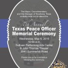 Texas Peace Officer Memorial