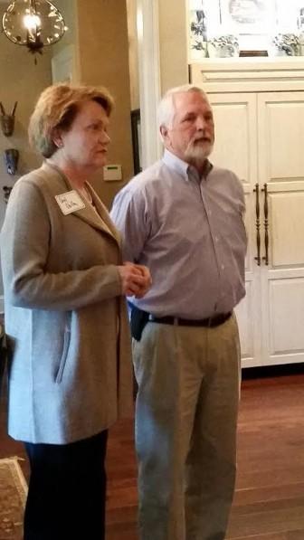 Carol Dalby and Curt Green