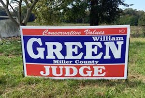 Candidate for Miller County Judge William Green – Four States News